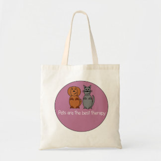 Pet Therapy Tote Bag