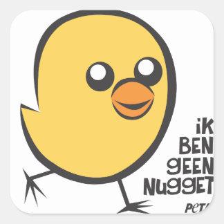 PETA I am no nugget sticker