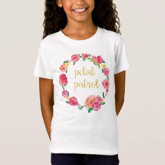 Petal Patrol Flower Girl Gift Shirt