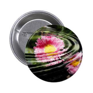 Petal Ripple Pinback Buttons