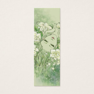 Petals and Pearls Bookmark Mini Business Card