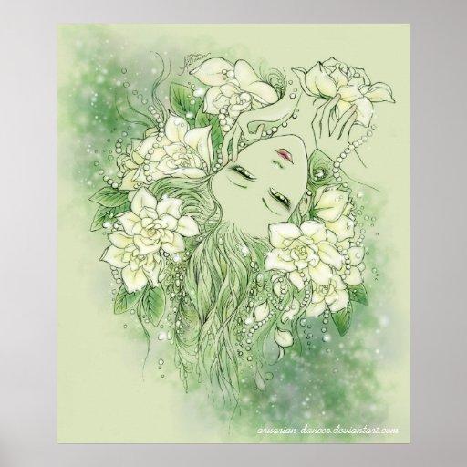 Petals and Pearls Print