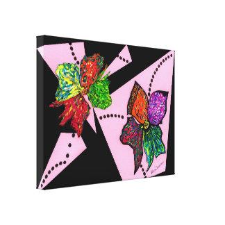 Petals in Motion Canvas Print