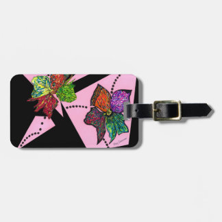 """""""Petals In Motion"""" Luggage Tag"""