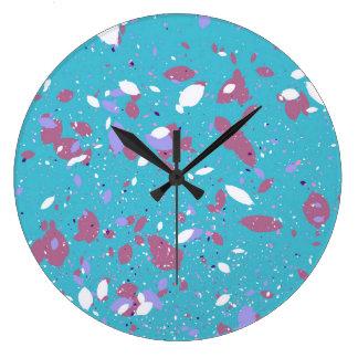 Petals Large Clock