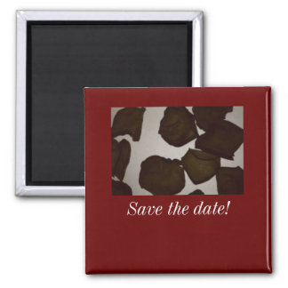 PETALS Save the date Refrigerator Magnets
