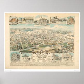 Petaluma, CA. (1314A) Poster