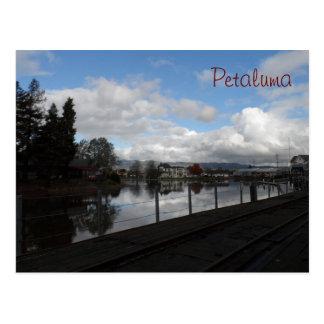 Petaluma, CA Postcard