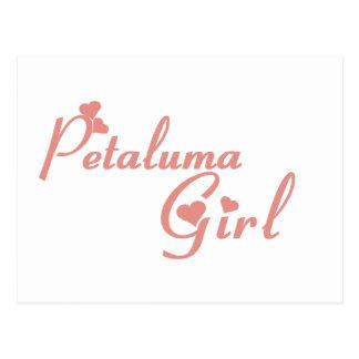 Petaluma Girl tee shirts Postcard