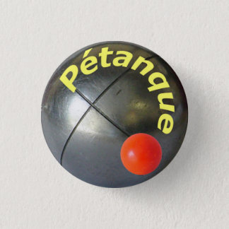"Petanque Pin/ Button 1""1/4"