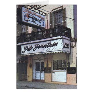 Pete Fountain's Club, New Orleans Card