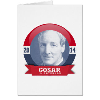 PETE GOSAR CAMPAIGN GREETING CARDS
