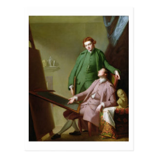Peter and James Romney, 1766 (oil on canvas) Postcard