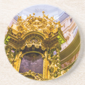 Peter and Paul Fortress St. Petersburg Russia Beverage Coasters