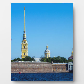 Peter and Paul Fortress St. Petersburg Russia Display Plaque