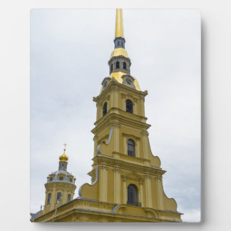 Peter and Paul Fortress St. Petersburg Russia Photo Plaque