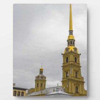 Peter and Paul Fortress St. Petersburg Russia Photo Plaques
