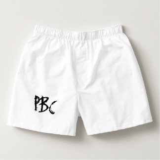 Peter Bayfield Collection - White Boxers