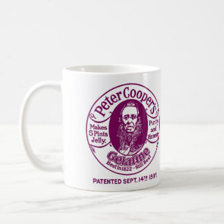 Peter Cooper's Gelatine Mug