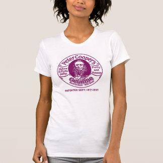 Peter Cooper's Gelatine T-shirt - Maroon