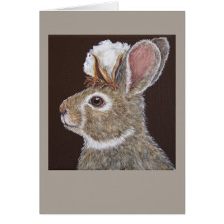 Peter Cotton Head greeting card