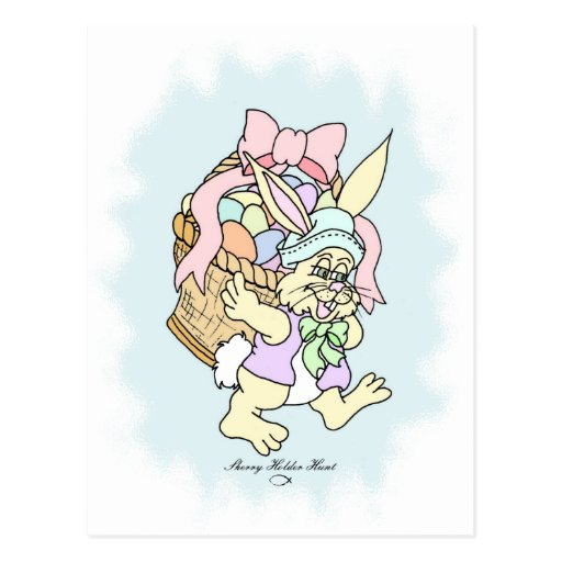 Peter Cotton-tail Easter design 5 Post Card