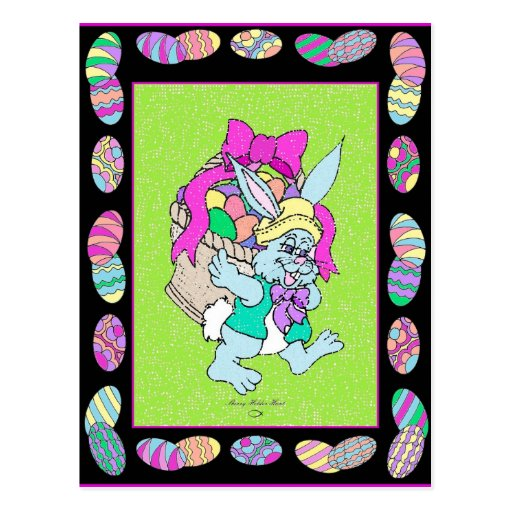 Peter Cotton-tail Easter design 6 Postcard