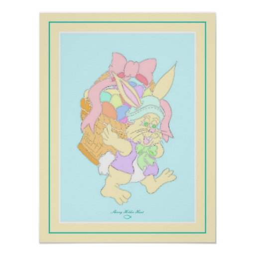 Peter Cotton-tail Easter Poster Design 4