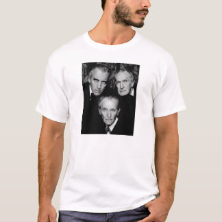 Peter Cushing, Christopher Lee and Vincent Price T-Shirt