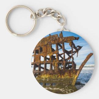 Peter Iredale Shipwreck - Oregon Coast Key Ring