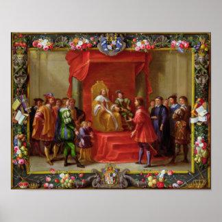 Peter IV, King of Aragon Poster