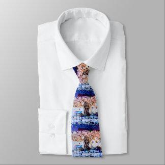 """peter max art style""beach tie"