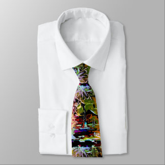 """""""peter max art style"""" boat tie"""