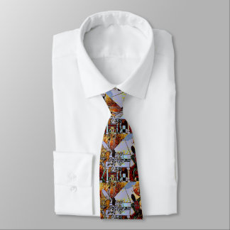 """""""peter max art style"""" jazz band tie"""