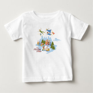 Peter Pan Flying over Neverland Baby T-Shirt