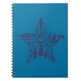 Peter Pan & Friends Star Notebook