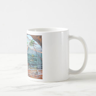 Peter Pan Hook's cove Tinker Bell painting Coffee Mug
