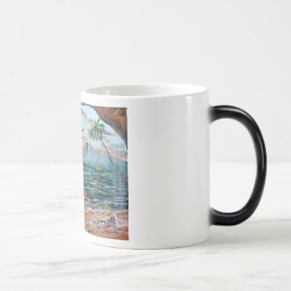 Peter Pan Hook's cove Tinker Bell painting Magic Mug