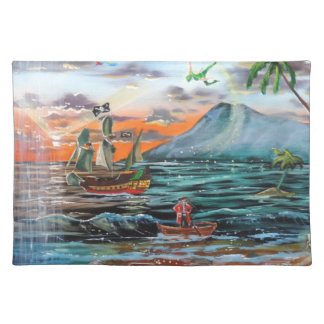 Peter Pan Hook's cove Tinker Bell painting Placemat