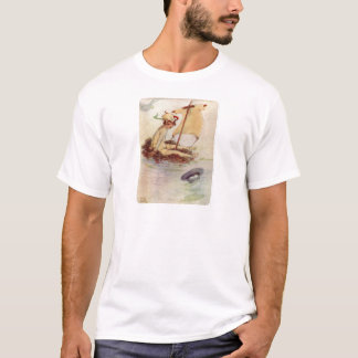 Peter Pan on Nest Raft T-Shirt