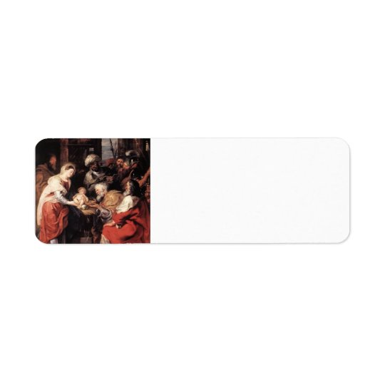 Peter Paul Rubens- Adoration of the Magi Return Address Label