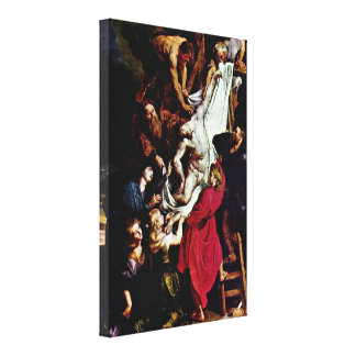 Peter Paul Rubens - Cross Gallery Wrapped Canvas