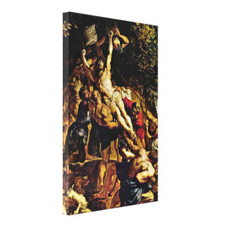 Peter Paul Rubens - The Elevation of the Cross Gallery Wrap Canvas