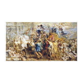 Peter Paul Rubens The Triumph of Henry IV Canvas Print