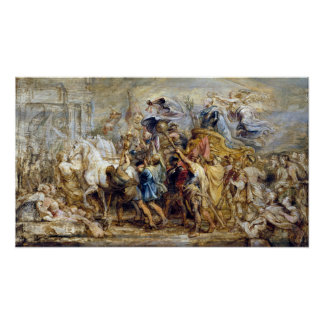 Peter Paul Rubens The Triumph of Henry IV Poster