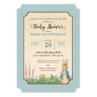 Peter Rabbit   Boy Baby Shower Card