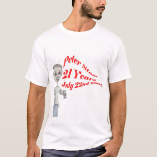 Peter Stone 21st T-Shirt