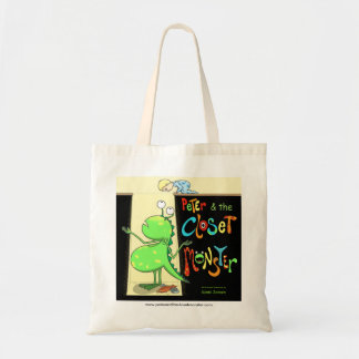 Peter & the Closet Monster, cover Budget Tote Bag