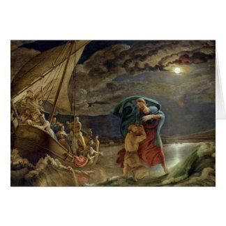 Peter Walks on Water, 1806 Card