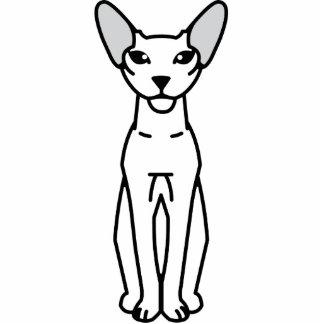 Peterbald Cat Cartoon Photo Cutouts